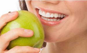 sonrisa manzana