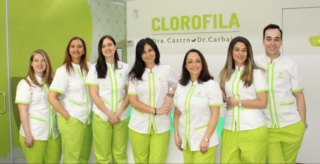 equipo clorofila